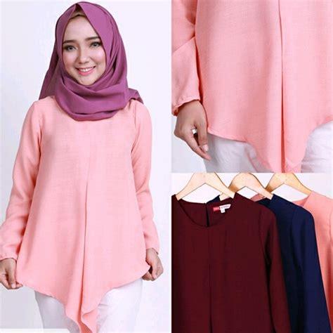 Baju Muslim Modern Untuk Lebaran 7 model baju muslim modern untuk lebaran 2017 ide model busana