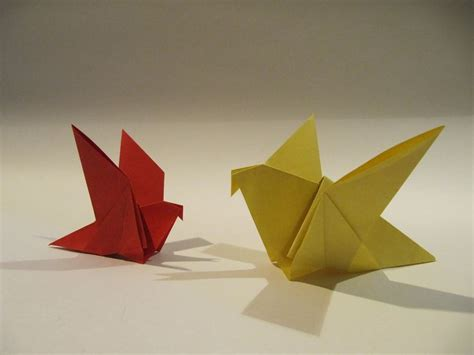 Folding Paper Birds - 17 best ideas about easy origami animals on