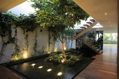 imagenes jardines interiores casas jardines interiores modernos 25 fotos y consejos de dise 241 o
