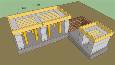 Outdoor Kitchen Design Plans Free Outdoor Kitchen Plans Free Howtospecialist How To Build Step By Step Diy Plans