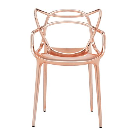 Copper Chairs by Buy Kartell Masters Chair Copper Amara