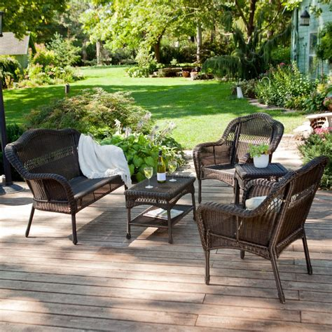 Weatherproof Wicker Patio Furniture Get Cheap Resin Patio Furniture Sets Aliexpress