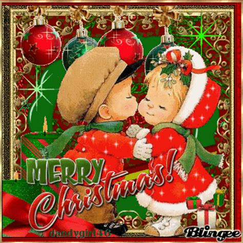 images of christmas kisses merry christmas kissing children picture 103619973