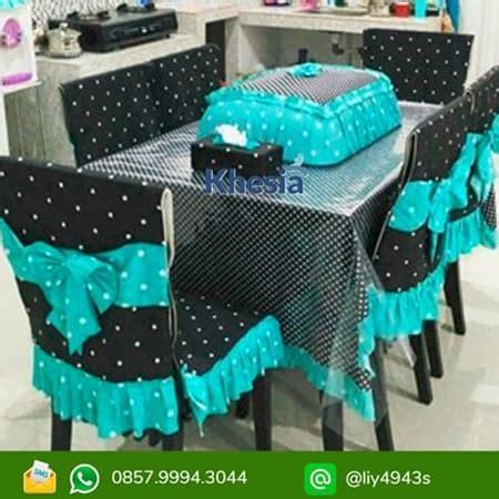 Taplak Meja Makan Model Oval Ukuran 6 8 Kursi taplak meja makan plastik pasarsemarang