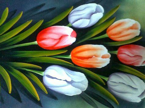 wallpaper lukisan cantik gambar bunga cantik auto design tech