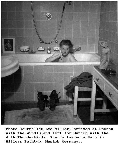 hitler bathtub my digital art adventure lee miller