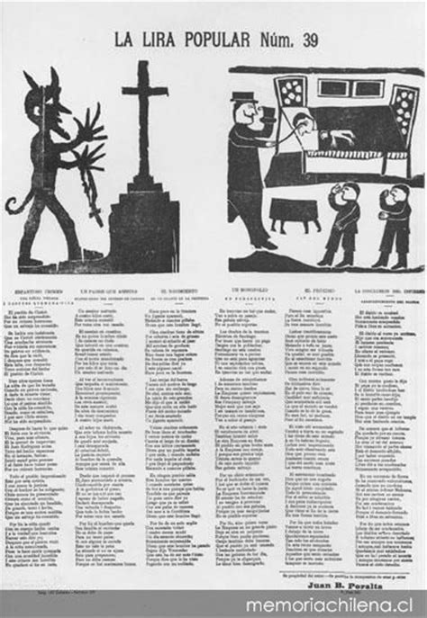 La Lira popular Nº39 - Memoria Chilena, Biblioteca