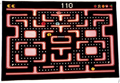 Pac Man Rug Perfect for 30 Year Old Kids   OhGizmo!