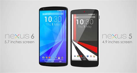 nexus 6 images this nexus 6 concept has a 5 7 inch display and htc