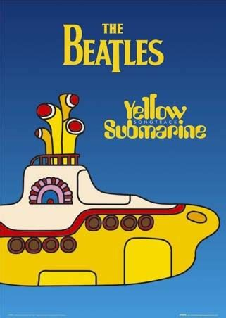 yellow submarine the beatles poster buy online
