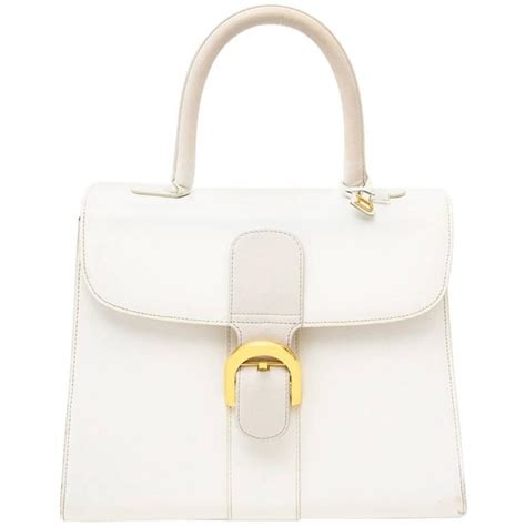 30white Camelia delvaux brillant mm ghw snow white bicolor at 1stdibs