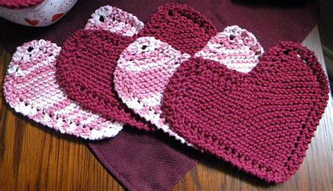 free knitting pattern heart shape ravelry grandma s favorite heart shaped dishcloth
