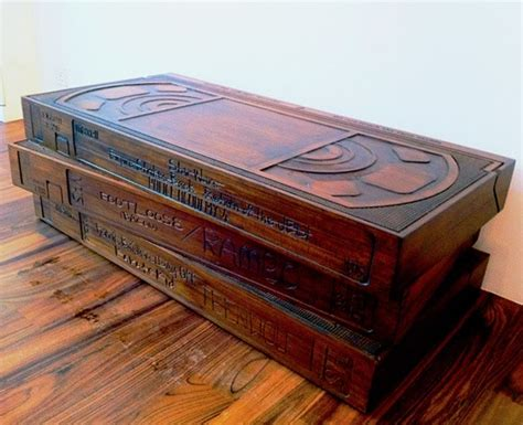 cassette coffee table for sale wooden vhs coffee table is a retro dreamer s fix