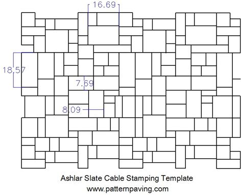 Sted Asphalt Cable Templates Asphalt Paving Template