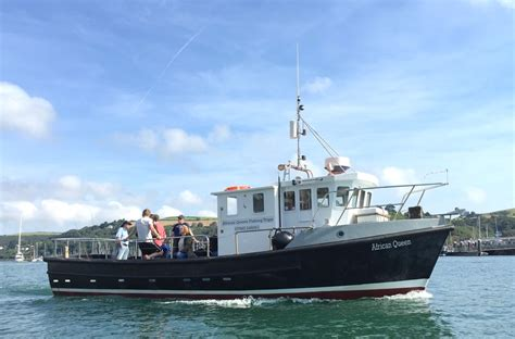 mackerel fishing boat trips torquay the african queen sea fishing and boat charter trips from