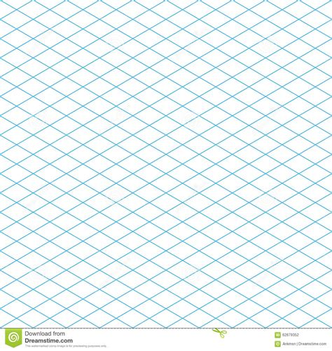pattern grid vector seamless isometric grid pattern stock vector