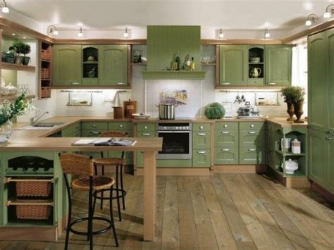 green cabinet kitchen kitchen cabinet paint green kitchen interior design