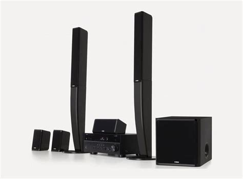 yamaha yht 697 airplay home theatre system launches