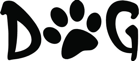 printable dog art dog paw print clipart cliparts and others art inspiration