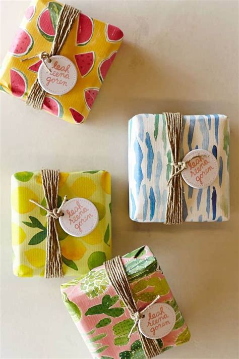 Handmade Gift Packing - soap packaging ideas