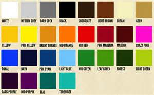 order of colors this chart is a reference guide only pantone colors on