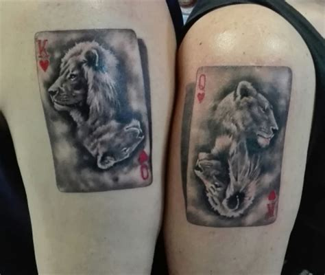akahlan partner tattoos loewen tattoos von tattoo