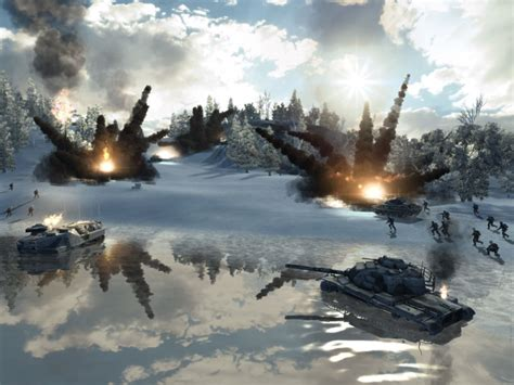 world in conflict screenshots geforce