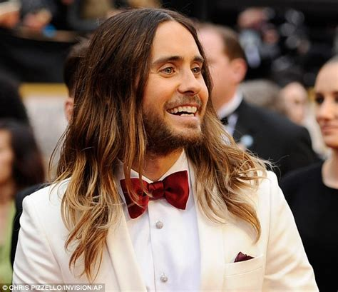 Jared Leto had unwashed hair at Oscars to 'make it look