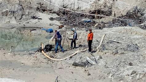 Mesin Dompeng polsek singkawang timur musnahkan enam mesin dompeng