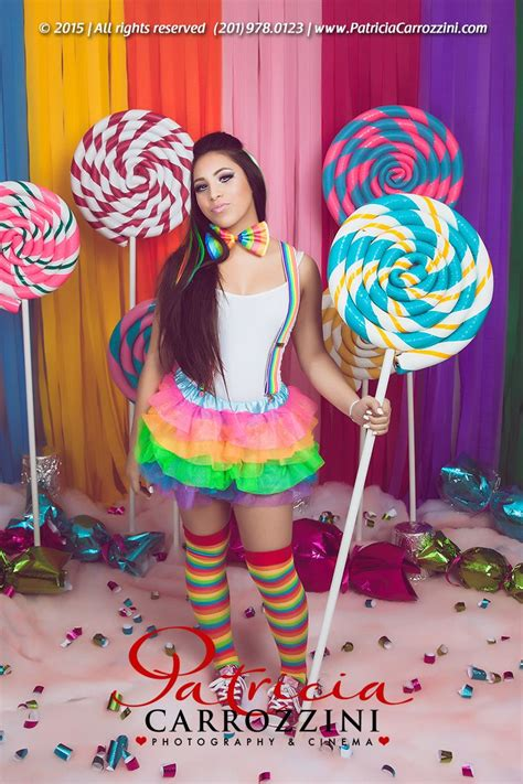 candyland sweet fifteen photo session patricia