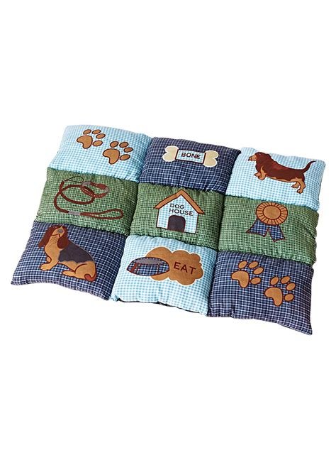 Patchwork Bed - patchwork pet bed drleonards