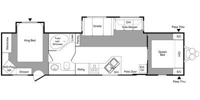 nash travel trailer floor plans nash fifth wheel wiring diagram get free image about
