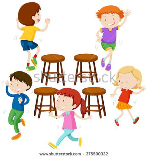 musical chairs clipart 44