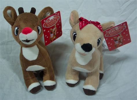 rudolph the red nosed reindeer clarice plush ad