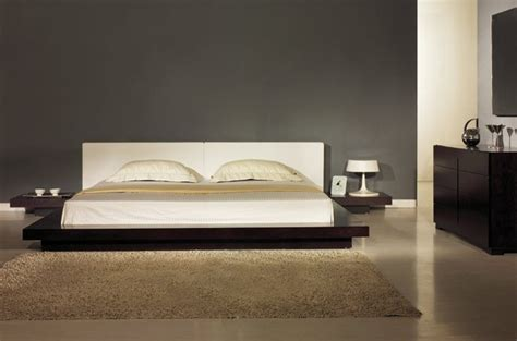 Master Bedroom Wardrobe Designs japanese style contemporary platform bed