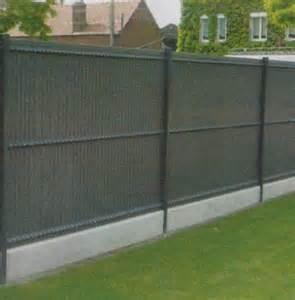 clotures de jardins pose de cl 244 ture lens panneaux b 233 thune les jardins de l artois pas de calais 62