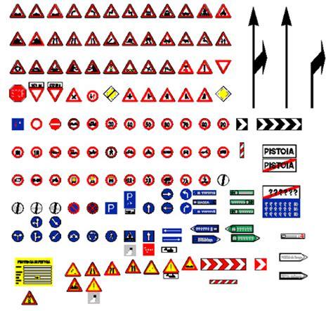 cartelli stradali dwg cartellonistica e segnali dwg