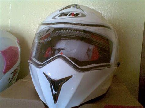 Helm Kyt Polos Biasa toko helm acel di kota sangatta helm gm putih
