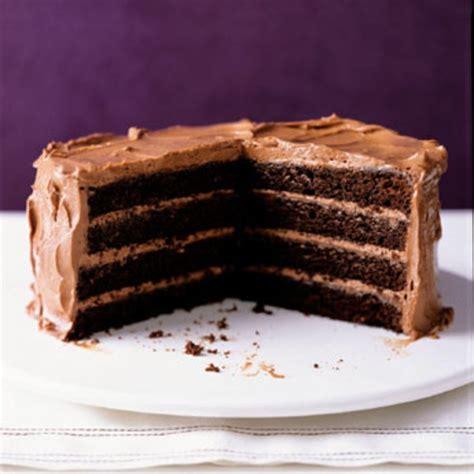 chocolate layer cake with milk chocolate frosting recipe