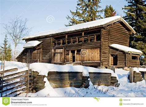 traditional swedish house plans traditional swedish house in skansen stockholm stock image image 13059149