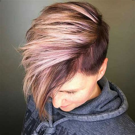 short hairstyles with dye 50 the coolest short hairstyles and hair colors for women