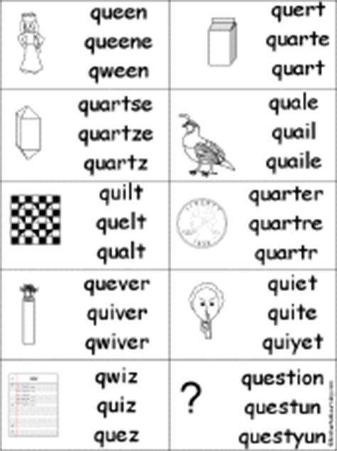 9 Letter Words Starting With Q Letter Q Alphabet Activities At Enchantedlearning