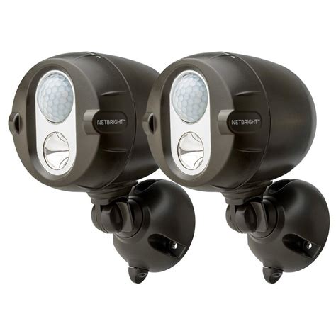 Wireless Motion Lights Outdoor Mr Beams Networked Wireless Motion Sensing Outdoor Led Spot Light System With Netbright