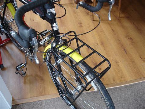 Front Bike Racks by Front Bike Rack Two Wheeled Wandering