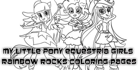 Halloween Kids Crafts Easy - coloring pages of my little pony equestria girls rainbow rocks woo jr kids activities