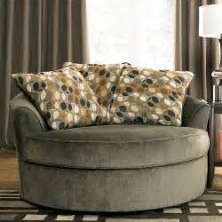 oversized round living room chair home decor