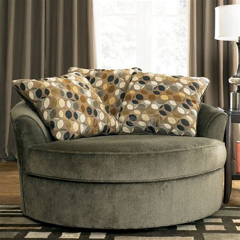 oversized living room chairs oversized round living room chair home decor