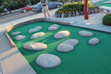 backyard putt putt golf homemade putt putt course golf party party decor ideas