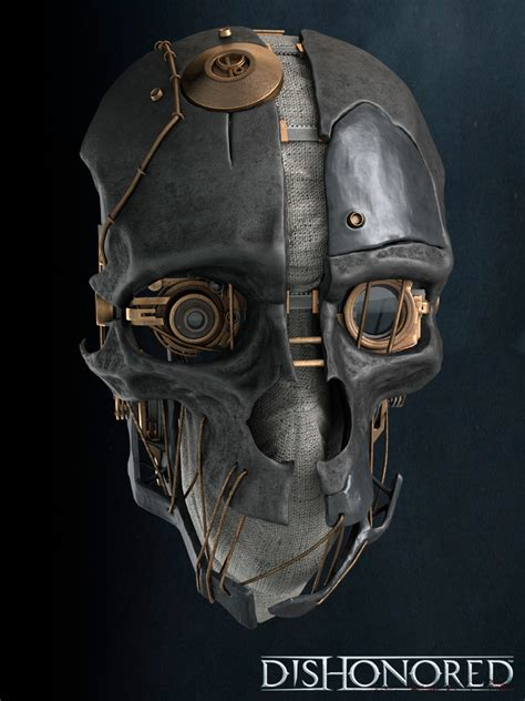 dishonored mask dishonored brent tyler cg artist