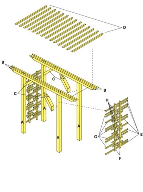 free trellis plans wood trellis plans free woodworking projects plans